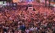 Bola Preta arrasta cem mil pessoas no Centro do Rio