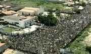 Protesto em Fortaleza (CE) reúne 25 mil pessoas perto da Arena Castelão