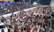 Durou mais de onze horas a Muamba Oficial do carnaval de Porto Alegre