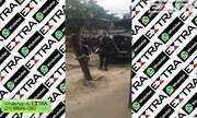 Policiais da Core retiram barricadas do Jacarezinho