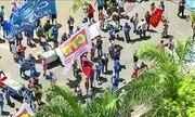 Servidores da Cedae fazem manifestação contra privatização da empresa