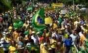 Manifestantes fazem protesto em apoio à Lava Jato em Jundiaí e Sorocaba