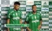 Palmeiras apresenta Mayke e Juninho