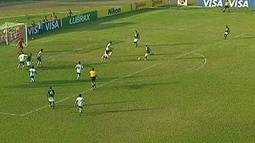 Os gols de Santo Andr 2 x 3 Gois, pela Copa do Brasil