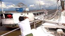 Próximo programa! Globo Mar navega em águas paraenses e visita a Baia do Marajó
