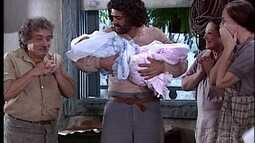 Petruchio e Catarina têm gêmeos