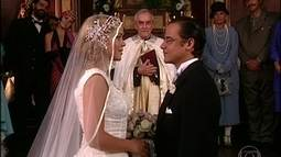Bianca e Edmundo casam