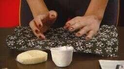 Aprenda a fazer uma carteira reutilizando caixa de leite e espuma