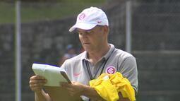 Técnico Diego Aguirre coloca em campo possível Inter para amistoso contra Juventude