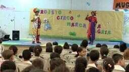 Projeto leva experiência circense para escola estadual do ES