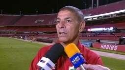 """José Augusto, sobre rebaixamento da Portuguesa: """"Dificuldade grande em todos os sentidos"""""""