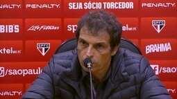 Milton Cruz diz que está à disposição do São Paulo, mas acata o que a diretoria resolver