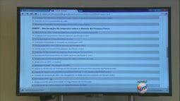 EPTV Comunidade - Declaração do Imposto de Renda - bloco 1