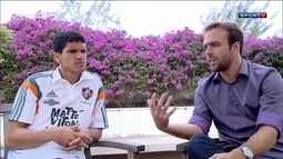 Magno Alves e Roger se reencontram e lembram tempo que jogaram juntos no Fluminense