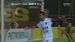 Os gols de Vitória 2 x 2 ASA-AL pela Copa do Brasil
