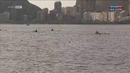 Lagoa Rodrigo de Freitas recebe Mundial júnior de remo que é evento-teste para Rio 2016