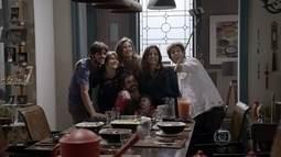 Gael e Dandara formam uma família unida