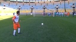 """Esporte Espetacular promove o """"Desafio Criança Esperança de Pênaltis"""""""