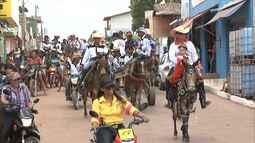 Tradicional cavalgada em Bom Jesus das Selvas reúne apaixonados por montaria