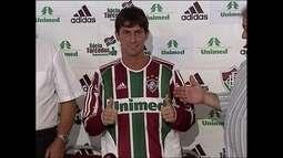 Em 2006, Fluminense apresenta Pedrinho como novo reforço