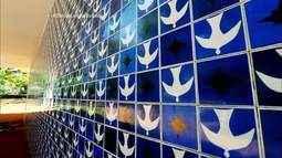 As obras de Athos Bulcão que fazem de Brasília um verdadeiro museu a céu aberto