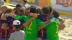 Os gols de Vasco 4 (2) x (3) 4 Barcelona no Mundialito de clubes de futebol de areia