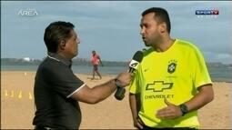 Gilberto Costa fala sobre preparação do Brasil para Copa Sul-Americana de Futebol de Areia
