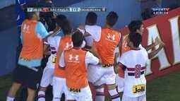 O gol de São Paulo 1 x 0 Figueirense pela 3ª fase da Copa São Paulo de Futebol Júnior