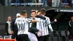 Os gols de Cruzeiro 1 x 2 Corinthians pela semifinal da Copa SP de Futebol Junior