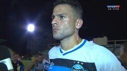 Bobô fala sobre pênalti perdido e avalia desempenho do Grêmio no começo de temporada