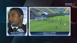 Roger Machado diz que Grêmio teve apresentação segura individualmente e coletivamente