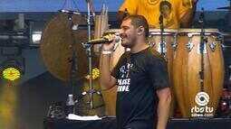 Criolo canta 'Pé de Breque' no Planeta Atlântida 2016