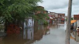 Chuva forte causa problemas em várias partes do estado