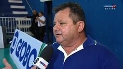 """Secretário de esportes de São Caetano sobre fogo em ginásio: """"É um acidente normal"""""""