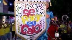 Bloco de rua anima foliões durante pré-carnaval em Natal