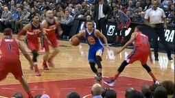 Veja mais um show de Stephen Curry e a boa atuação de Raulzinho, pela NBA