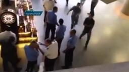 Taxistas agridem motorista que estaria fazendo transporte clandestino