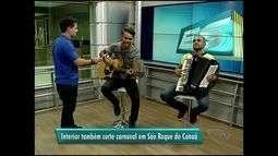 Carlinhos Rocha faz show em São Roque do Canaã, noroeste do Espírito Santo