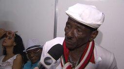 Riachão e outros artistas homenageam o samba no Pelourinho