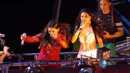 Simone e Simaria, Ivete e Bell Marques puxam blocos no circuito Dodô, em Salvador
