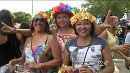 Foliões participam de carnaval em Pinheiro, MA