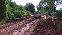 Produtores de Laguna Carapã têm dificuldades para escoar produção