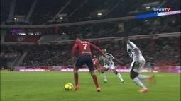 Os gols de Lille 1 x 1 Rennes pelo Campeonato Francês