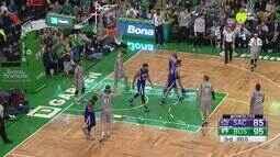 Melhores momentos: Sacramento Kings 119 x 128 Boston Celtics pela NBA