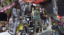 Sábado de carnaval é marcado pela mistura de ritmos em Salvador