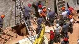 Homem é soterrado depois de um desabamento na Zona Norte de São Paulo
