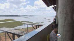 Nível do Lago de Furnas sobe e atrai turistas e foliões no Sul de Minas