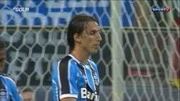 Pedro Geromel, do Grêmio, é eleito o vilão da rodada