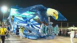 Duas escolas vencem o carnaval de Manaus