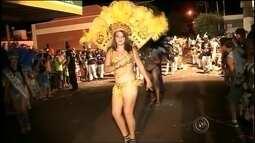Escola de samba conquista foliões em Palmital